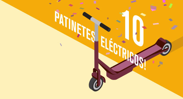 10 Patinetes Eléctricos