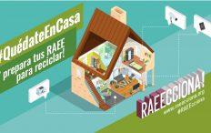 #QuédateEnCasa i aprofita per a buscar els teus RAEE